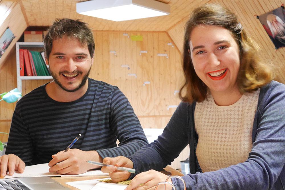 Deux designers s'installent à Conques
