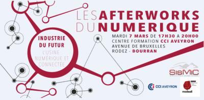 L'industrie du futur au programme des Afterworks du numérique - brève magazine ECO'Aveyron