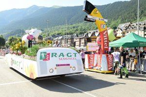 RAGT le partenaire d'équipes sportives aveyronnaise - notamment le cyclisme- article du magazine Écho'Aveyron du mois de mai-juin 2017
