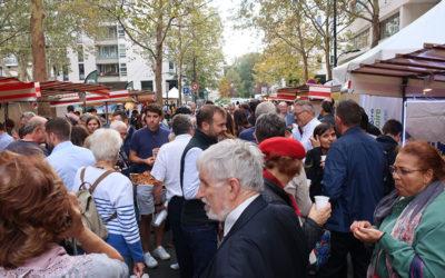 Echo'Aveyron au marché des pays de l'Aveyron à Paris