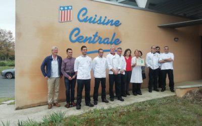 La cuisine centrale de la ville de Millau obtient le label ECOCERT en cuisine
