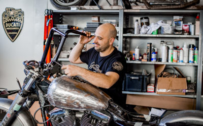 Psyko Kustom – Le « tatoueur » des motos
