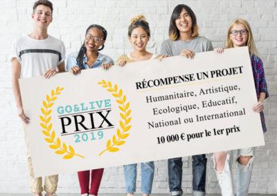 Go&Live – Prix 2019
