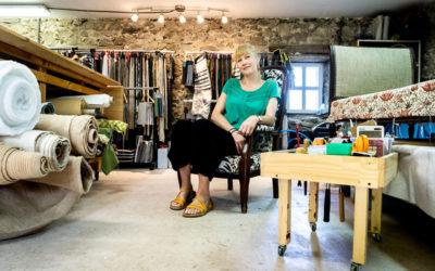 Mélanie Vandenberghe – Elle redonne vie aux fauteuils chéris