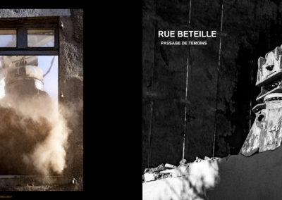 « Rue Béteille – Passage de témoins » de Jocelyn Calac