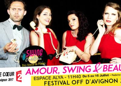Le spectacle musical – SWING COCKT'ELLES Amour, Swing & Beauté